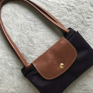 Longchamp Le Pliage Bilberry Small Packable Tote